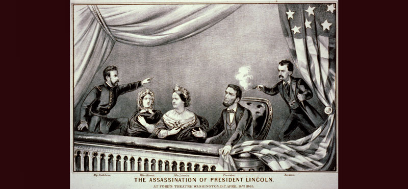 Abraham Lincoln's Assassination at a Theater